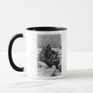 Mug George Washington croisant le fleuve Delaware