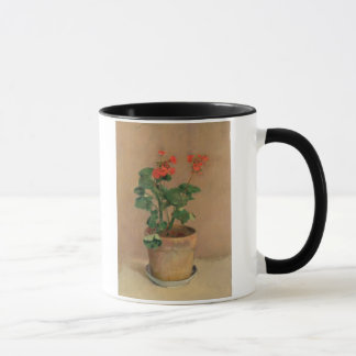 Mug Géraniums dans un pot, c.1905 (huile sur la toile)