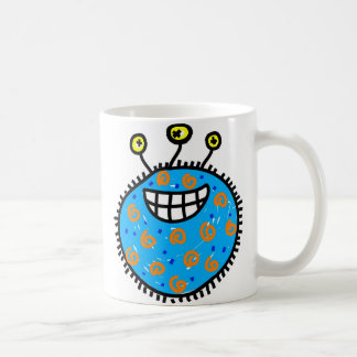 Mug Germe bleu de bande dessinée