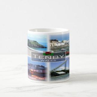 Mug Gigaoctet Pays de Galles - Tenby -