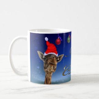 Mug Girafe de Noël