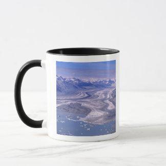Mug Glacier de Lowell de vue aérienne, ressortissant