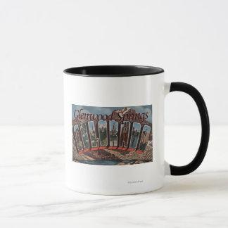 Mug Glenwood Springs, le Colorado - grandes scènes de