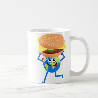 Mug Globe d'hamburger