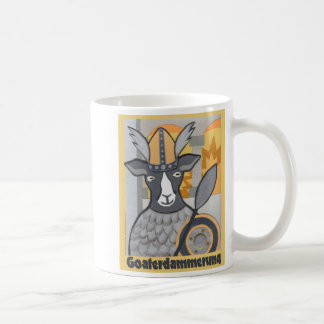 Mug Goaterdammerung : Crépuscule des chèvres