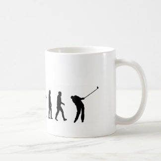 Mug Golf de l'évolution EVO06, golfeur
