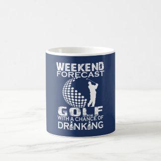 MUG GOLF DE PRÉVISION DE WEEK-END