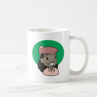 Mug Golfeur de femme d'Afro-américain