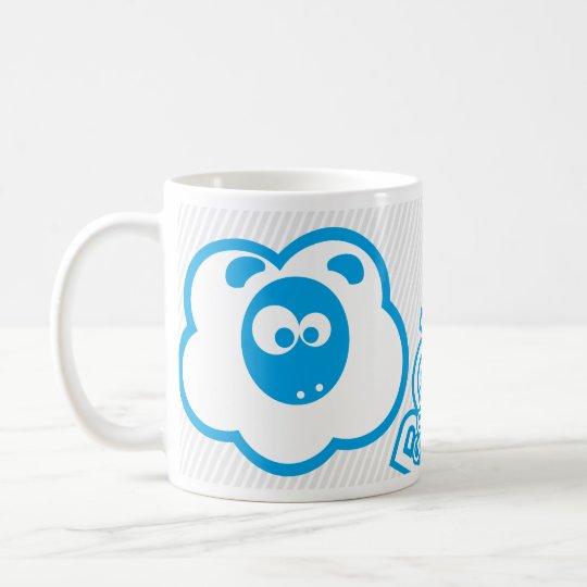 Mug Good Morning Moulos - Bleu