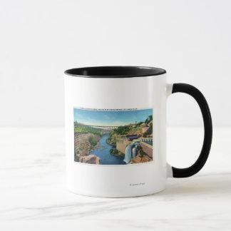 Mug Gorge de rivière de Genesee, pont de Park Avenue