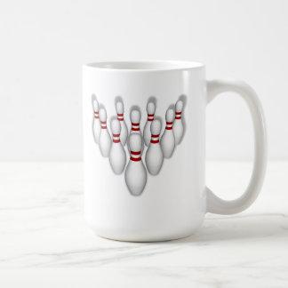 Mug Goupilles de bowling : modèle 3D :