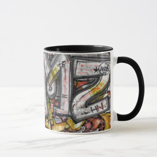 Mug Graffitis macro