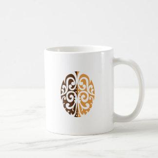 Mug Grain de café avec le motif maori