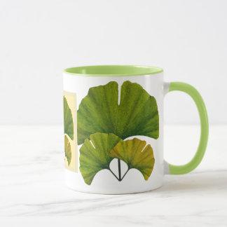 Mug Grand art de Ginkgo pour vos arts et pavillon de
