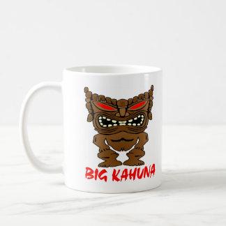 Mug Grand Dieu blanc de Kahuna Tiki