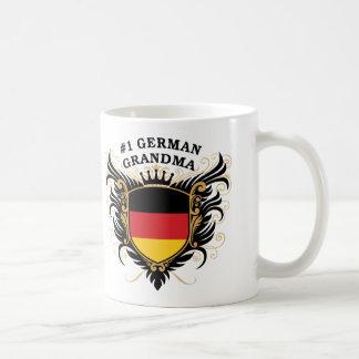 Mug Grand-maman allemande du numéro un