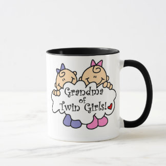 Mug Grand-maman des T-shirts et des cadeaux jumeaux de