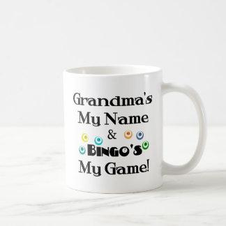 Mug Grand-maman et bingo-test