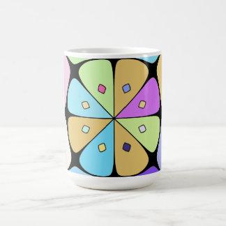 """Mug grand modèle """"Fleur stylisée Pop Art"""""""