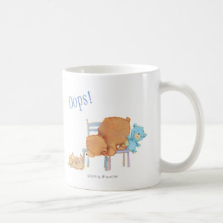 Mug Grand ours de Brown, calicot, et chaises souples