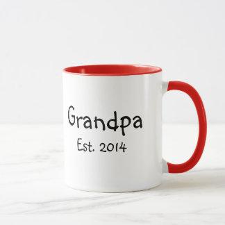 Mug Grand-papa à être 2014