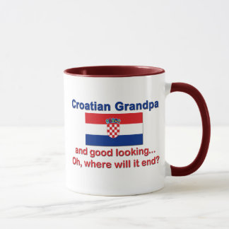 Mug Grand-papa croate beau