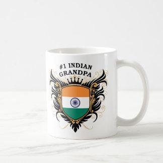 Mug Grand-papa indien du numéro un