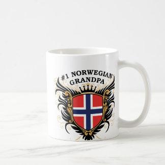 Mug Grand-papa norvégien du numéro un