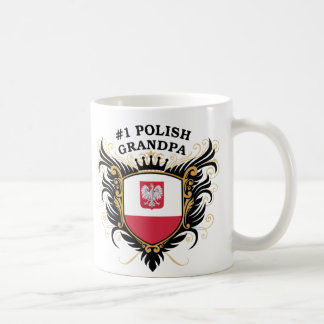 Mug Grand-papa polonais du numéro un
