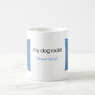 Mug Grand plan d'agilité - chien de bâton