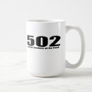 Mug Grande caisse de bloc de 502 Chevy