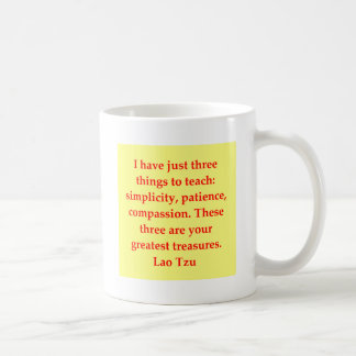 Mug grande citation de Tzu du Laotien