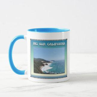Mug Grande Sur vue d'océan de la Californie II