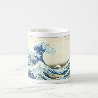 Mug Grande vague de Katsushika outre de Kanagawa