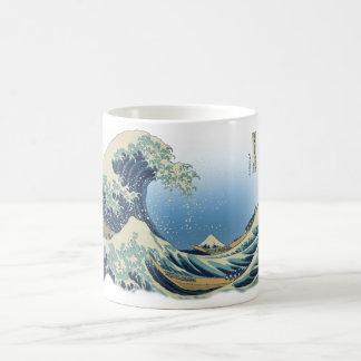 Mug Grande vague outre de Kanagawa