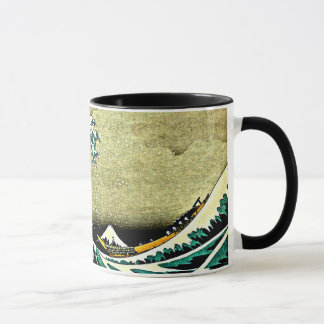 Mug Grande vague outre de Kanagawa - Katsushika