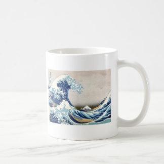 Mug Grande vague outre des beaux-arts de Kanagawa