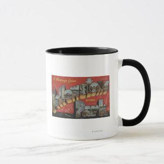 Mug Grandes scènes de lettre - parc national de