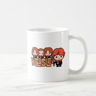 Mug Graphique de Weasley Siblilings de bande dessinée