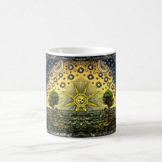 Mug Gravure sur bois vintage en Flammarion