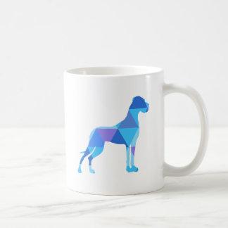 Mug Great dane bleu Triangulus