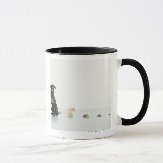 Mug Great dane, chat, cobaye, tortue et lingot
