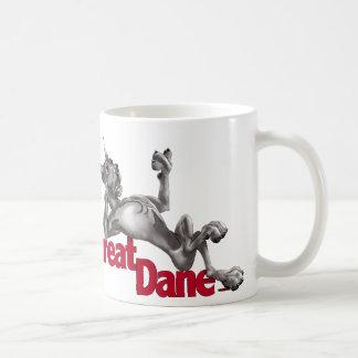 Mug Great dane s'est remis le noir