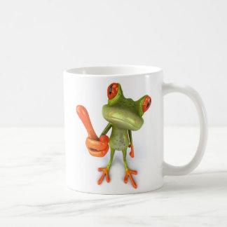 Mug Grenouille avec des pouces !