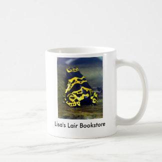Mug grenouille Jaune-réunie de poison - leucomelas de