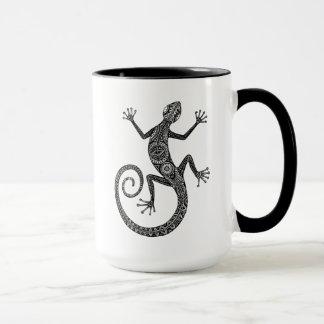 Mug Griffonnage de lézard ou de salamandre