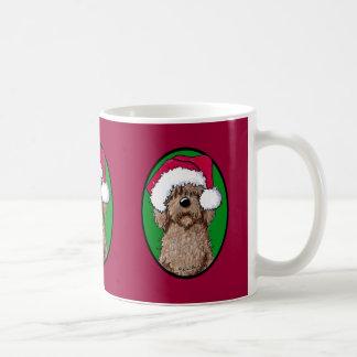 Mug Griffonnage Père Noël de chocolat
