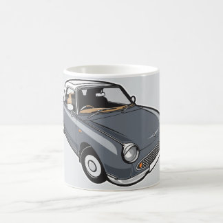 Mug Gris de Nissan Figaro Lapiz