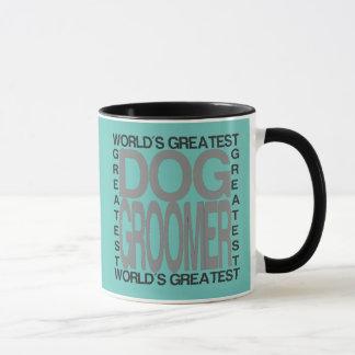 Mug Groomer du plus grand chien des mondes