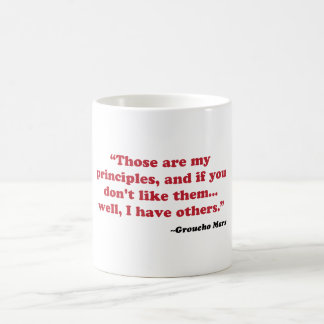 Mug Groucho Marx - principes